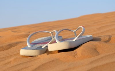 Choose Flip Flops with Good Arch Support
